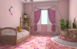 Детская комната для девочки.