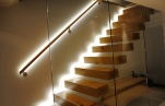 Освещение лестниц автоматической подсветкой