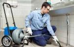 Профилактические работы по прочистке канализации