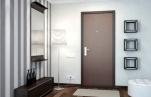 Варианты отделки стальных дверей